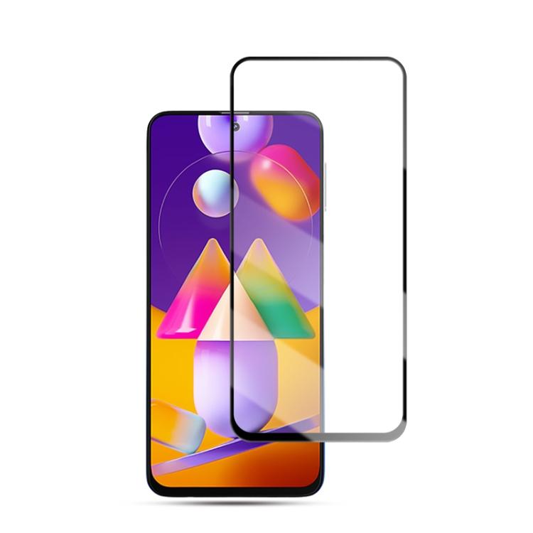 Защитное стекло mocolo 0.33mm 9H 3D Full Glue для Samsung Galaxy M31S - черное