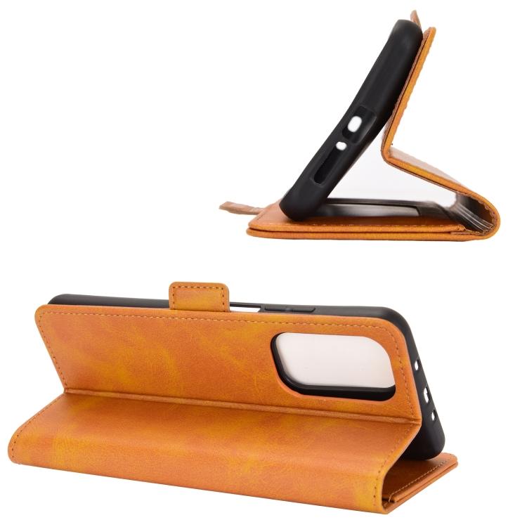 Чехол-книжка с складной подставкой для Сяоми Ми 10Т оранжевый