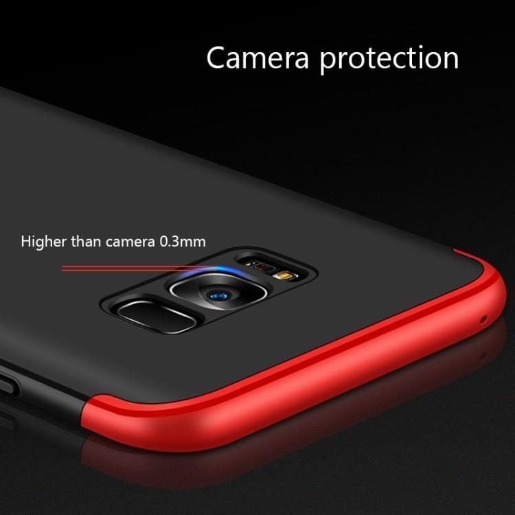 3D чехол GKK Three Stage Splicing Full Coverage Case для Samsung Galaxy S8/G950-черный
