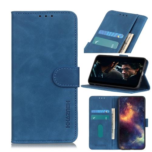 Синий чехол-книжка KHAZNEH  на iPhone 12 Mini
