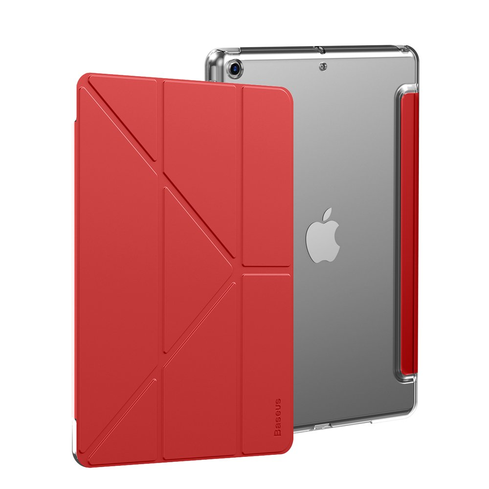 Чехол-книжка Baseus Jane Smart Cover на iPad 8/7 10.2 (2019/2020) красный