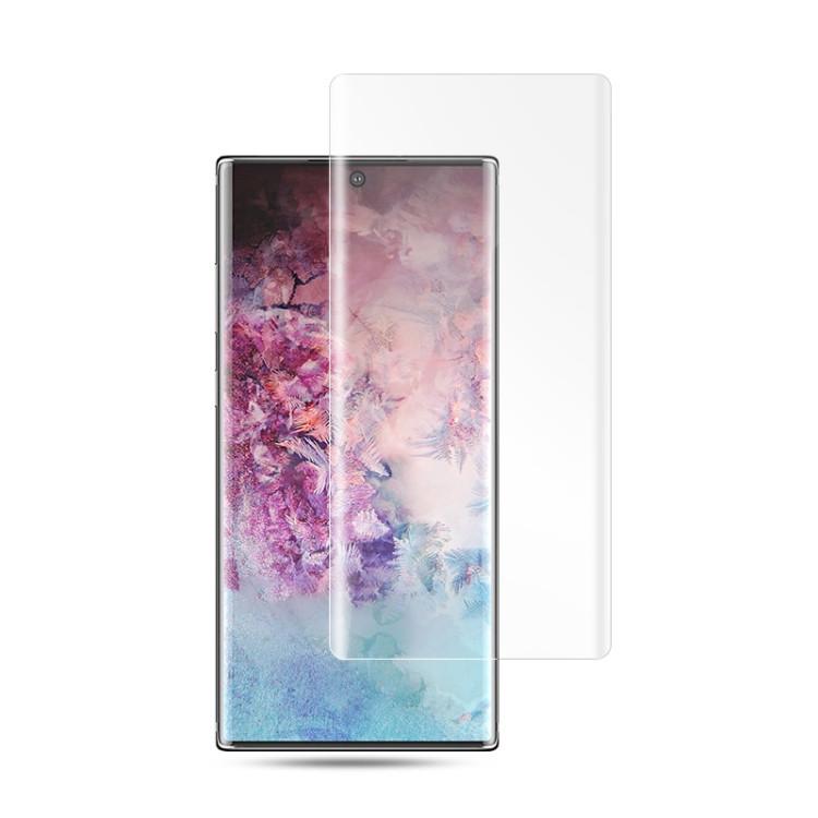 Защитное 3D стекло с поддержкой отпечатка с УФ лампой Mocolo 9H 3D Full Screen UV для Samsung Galaxy Note 10