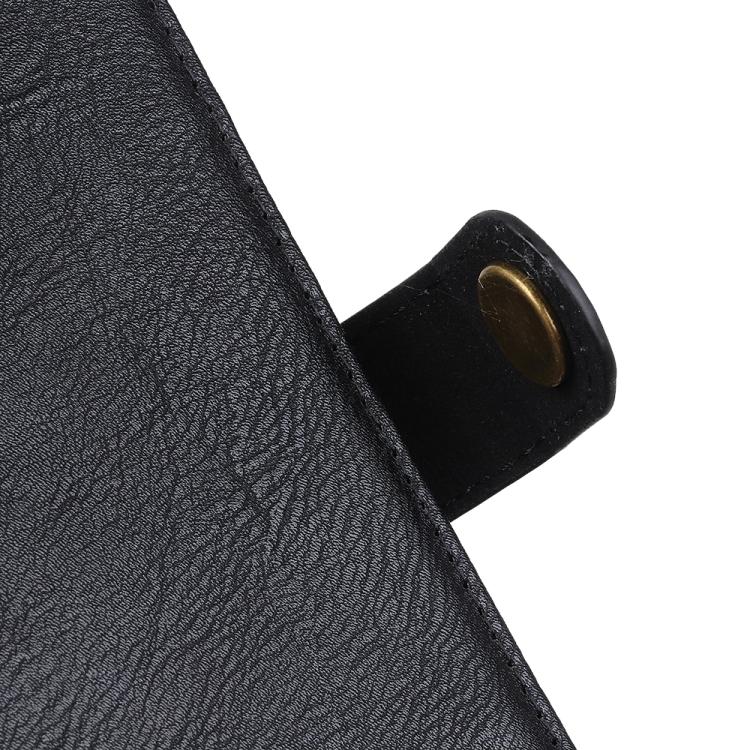 Чехол кожаной фактуры на магнитной защелке для Самсунг Гелекси М31с черного цвета