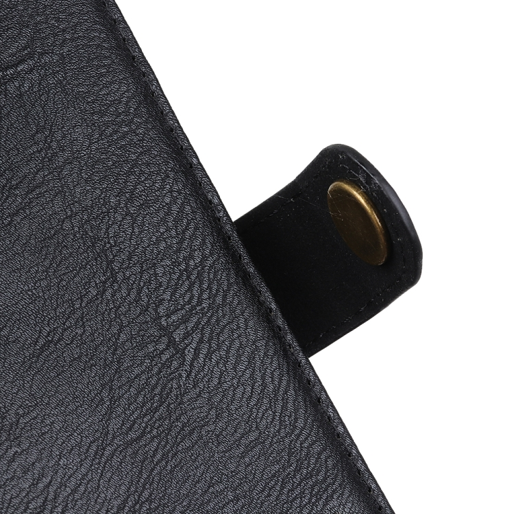 Черный чехол-книжка с магнитной защелкой для Сяоми Ми 10Т