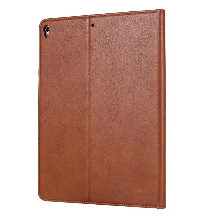 Кожаный чехол Knead Skin Texture на iPad 8/7 10.2 (2019/2020) -коричневый