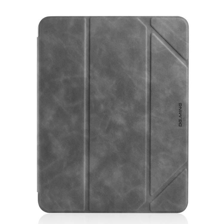 Серый чехол-книжка для Айпад 7 10.2