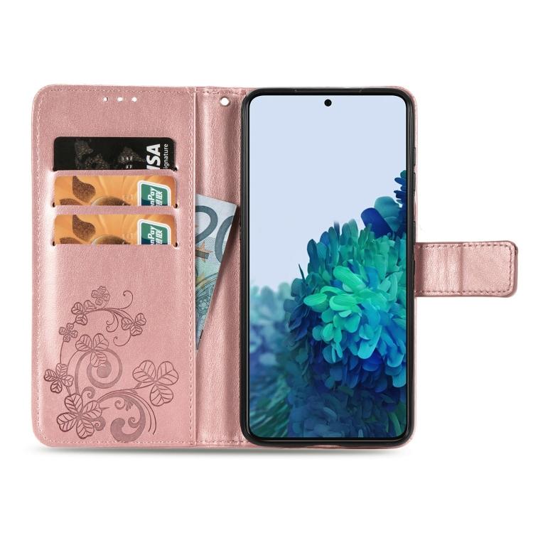 Чехол-книжка Four-leaf Clasp  для Samsung Galaxy S21