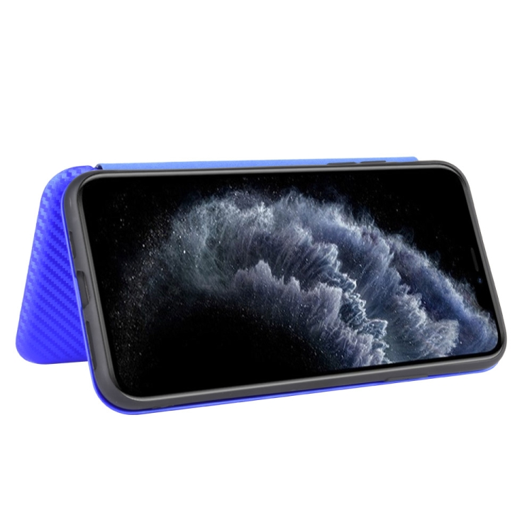 Чехол-книжка на Айфон 12 Про Макс - синий