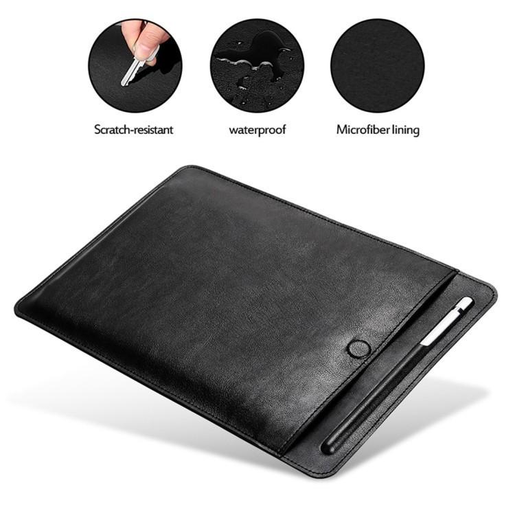Кожаный универсальный чехол-конверт Sleeve Bag на iPad 2 / 3 / 4 / iPad Air / Air 2 / Mini 1 / Mini 2 / Mini 3 / Mini 4 / Pro 9.7 / Pro 10.5-кофе