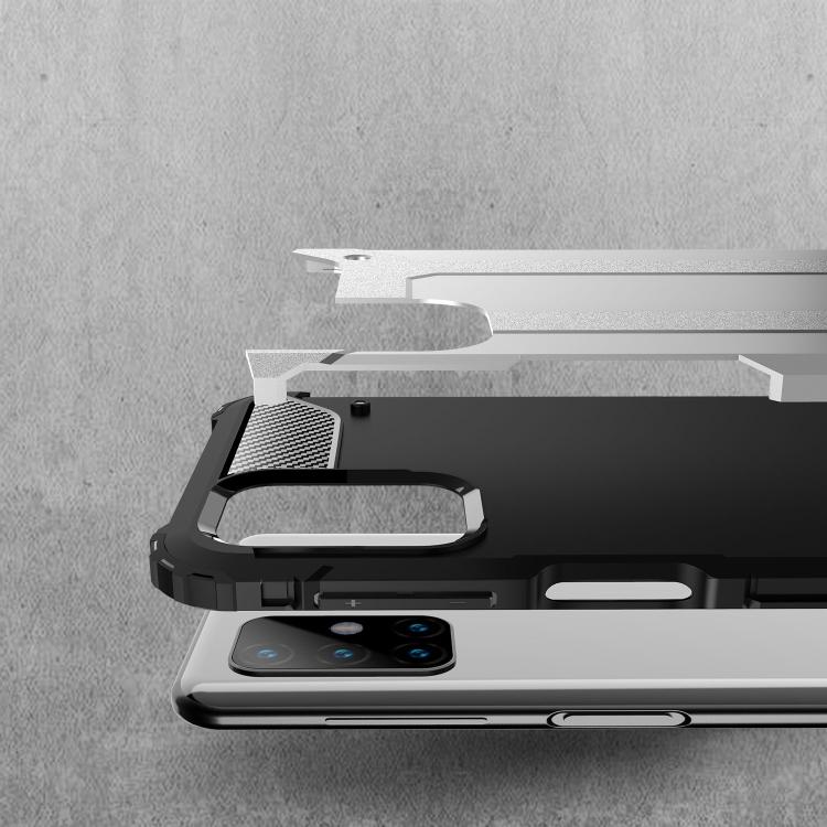Противоударный чехол Magic Armor на Samsung Galaxy M31S - черный