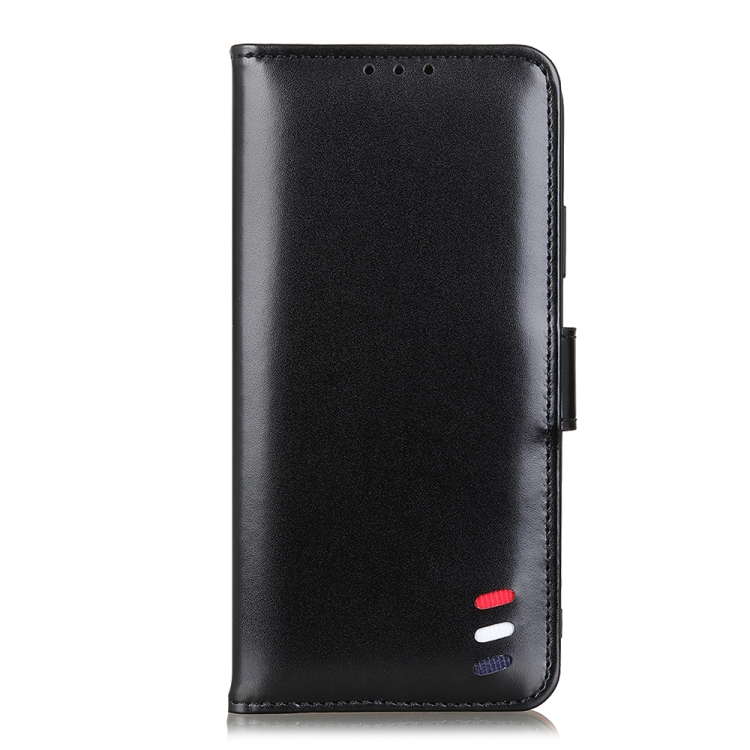 Чехол-книжка 3-Color Pearl на Samsung Galaxy A72 - черный