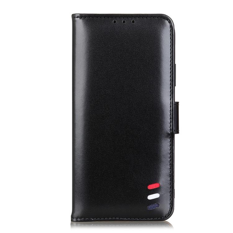 кожаный чехол-книжка на Redmi Note 10/10S черный