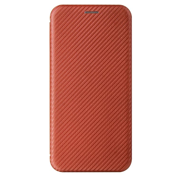 Защитный чехол-книжка на Сяоми Редми 9Т коричневого цвета