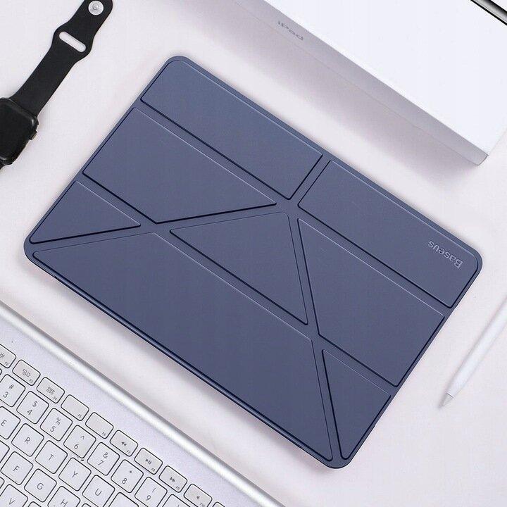 Чехол-книжка Baseus Jane Smart Cover на iPad 8/7 10.2 (2019/2020) - синий