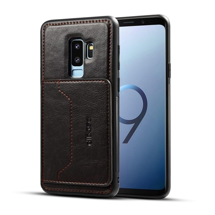 Кожаный чехол на Samsung Galaxy S9+