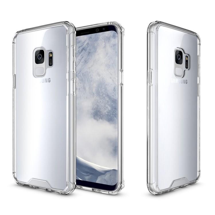 Противоударный чехол на Samsung Galaxy S9/G960  Armor Protective Back Cover Case прозрачный
