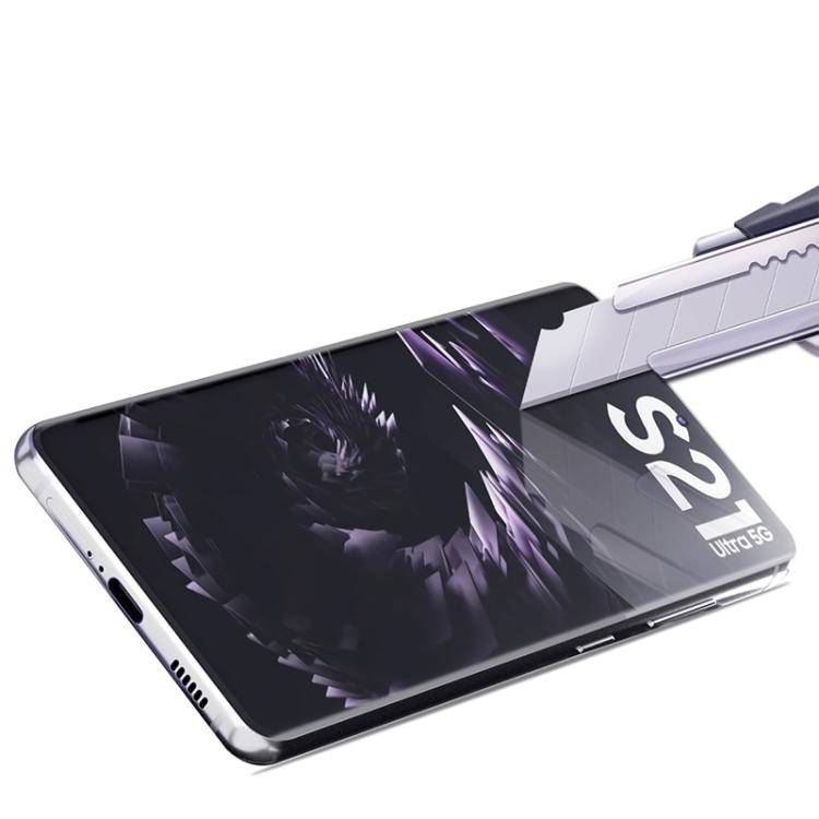 Защитное коленное стекло для Самсунг Гелекси С21 Ультра