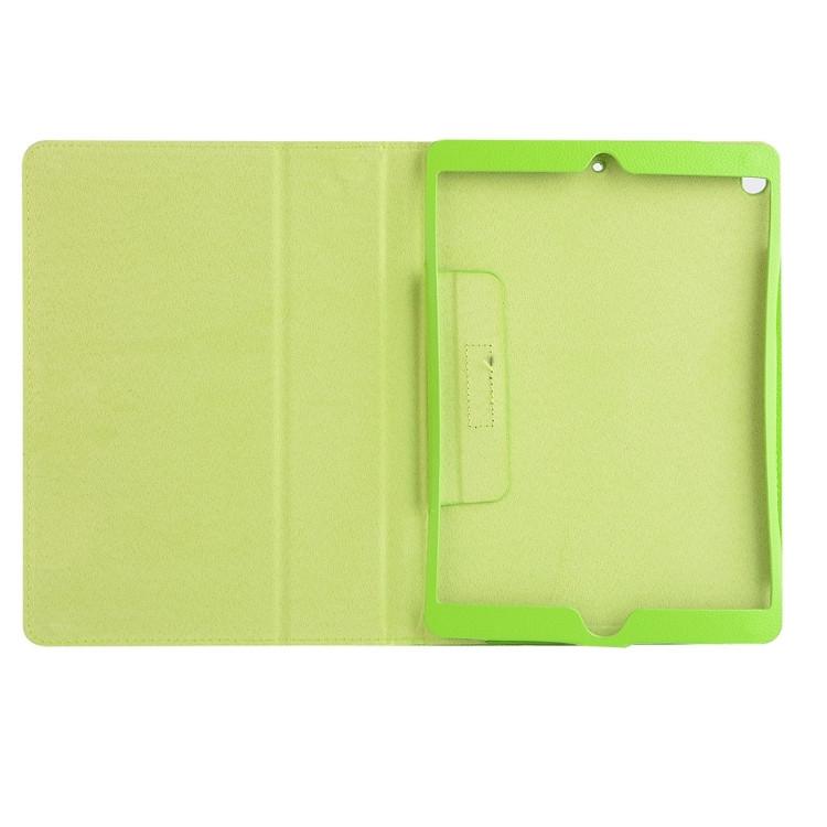 Чехол-книжка Litchi Texture 2-fold на Айпад Про 10.5/Эйр 2019-зеленый