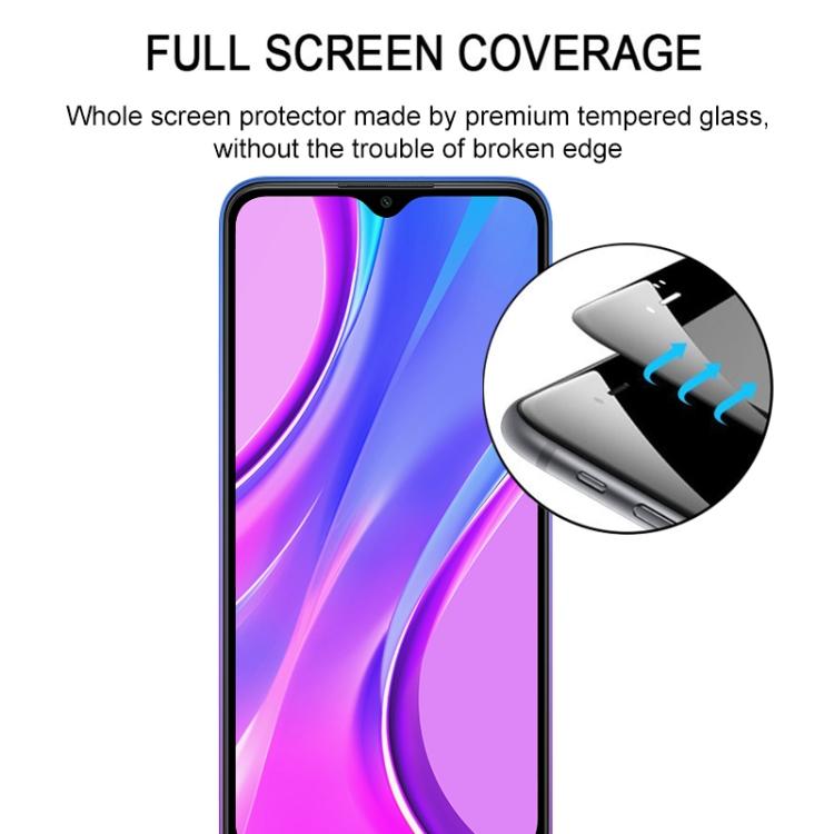 Стекло 3D Full Glue Full Screen  на Ксяоми Редми 9