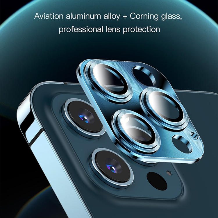 Защитное стекло на камеру TOTUDESIGN AB-065 для Айфон 12 Pro Max - золотое