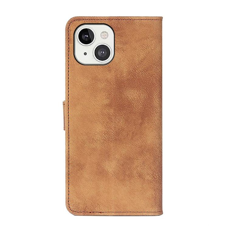 Чехол-книжка на Айфон 13 - коричневый