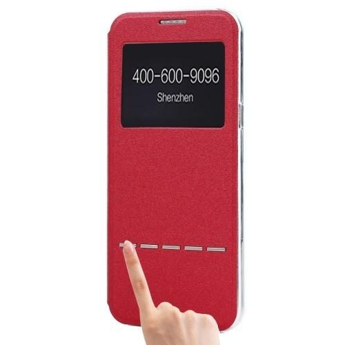 Чехол-книжка  ID  для Самсунг  Галакси S8 / G950-красный