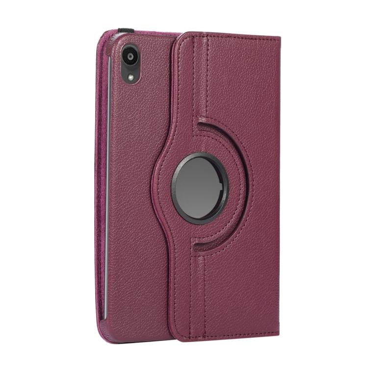 Чехол-книжка для Айпад мини 6 - фиолетовый