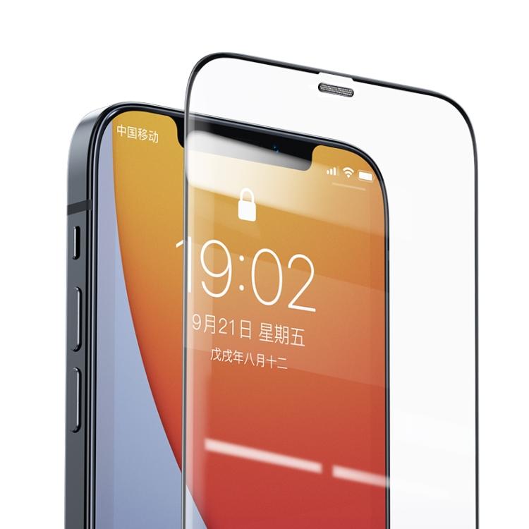 Защитное стекло Benks V Pro+ Series на iPhone 12/12 Pro - прозрачно-черное