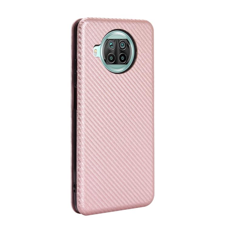 Чехол-книжка на Ксяоми Mi 10T Lite - розовый