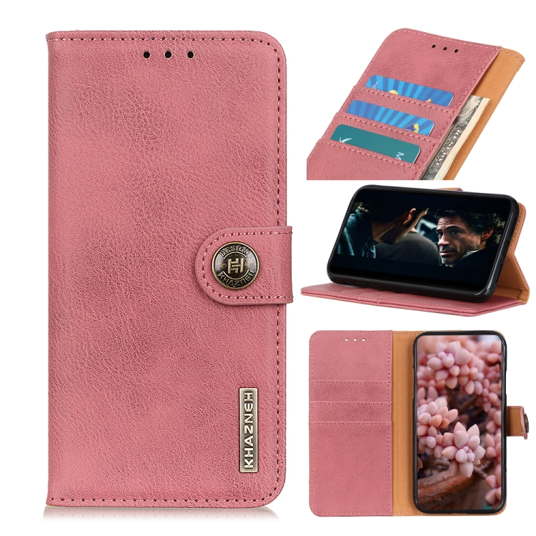 Розовый чехол-книжка для Сяоми Ми 10Т