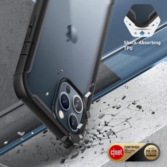 Двухсторонний чехол Supcase Iblsn Ares для Айфон 12 Про Макс