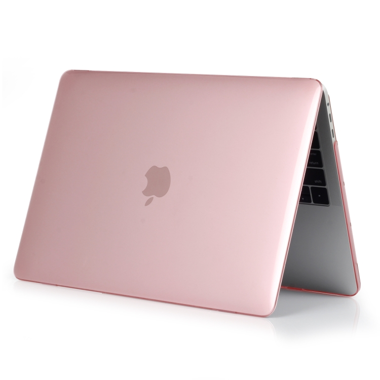 Защитный чехол Crystal Style на Macbook Pro 16 - розовый