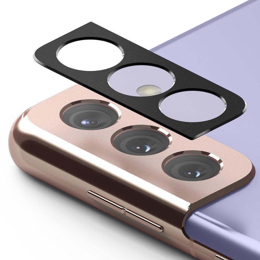 Защитное стекло на камеру Ringke Stylingr для Samsung Galaxy S21 Plus black