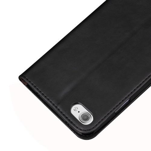 Чехол Книжка Retro Texture Wallet Черный для Айфон 6/6С