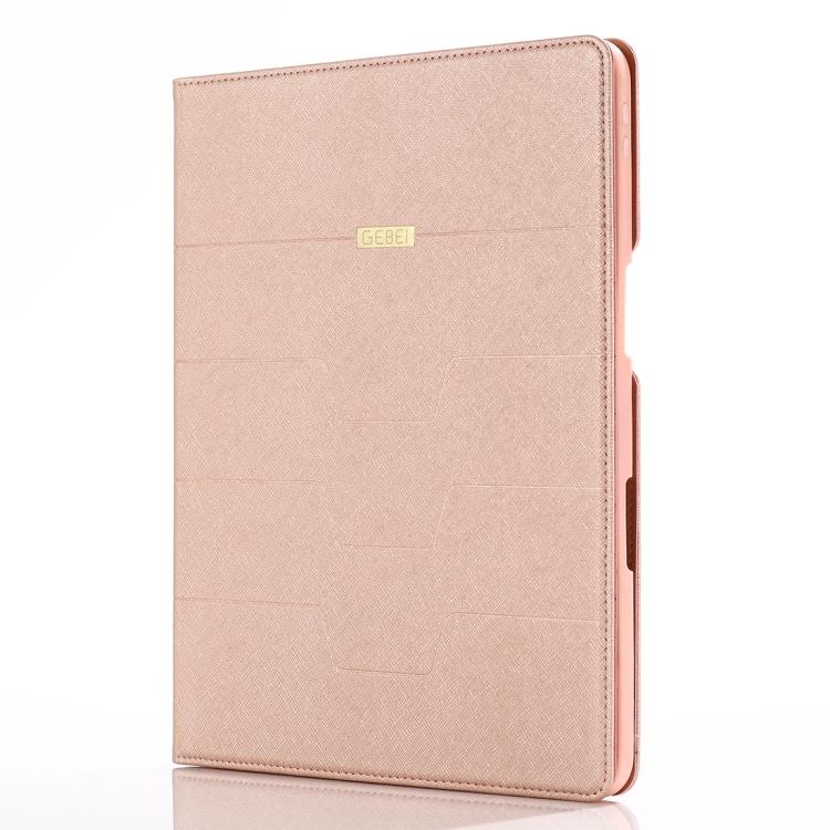 Розово золотой чехол-книжка для Айпад Про 11
