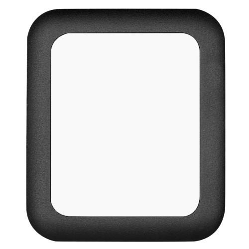 Защитное стекло с черной рамкой на Эпел Вотч 42мм