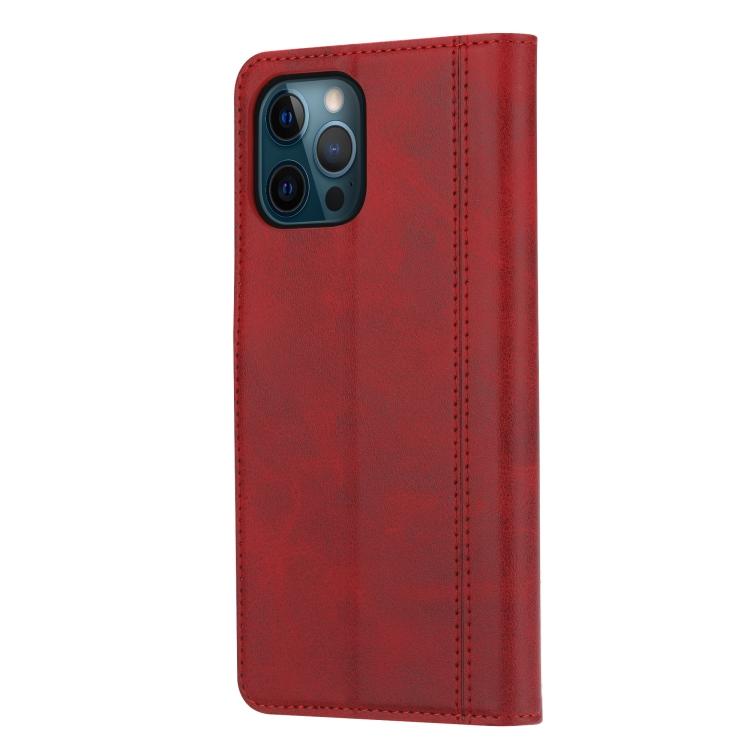 Чехол-книжка на Айфон 13 Pro - красный