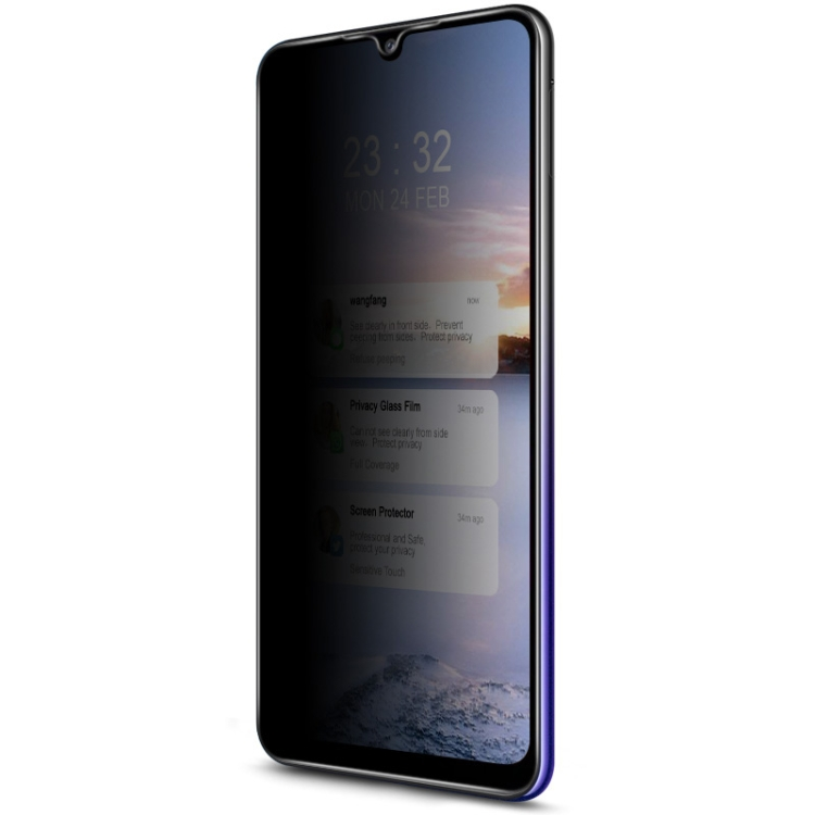 Защитное стекло IMAK HD Anti-spy для Samsung Galaxy A32 4G