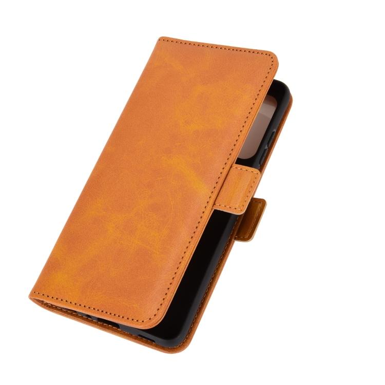Чехол-книжка Dual-side Magnetic Buckle для Samsung Galaxy A72 - желтый