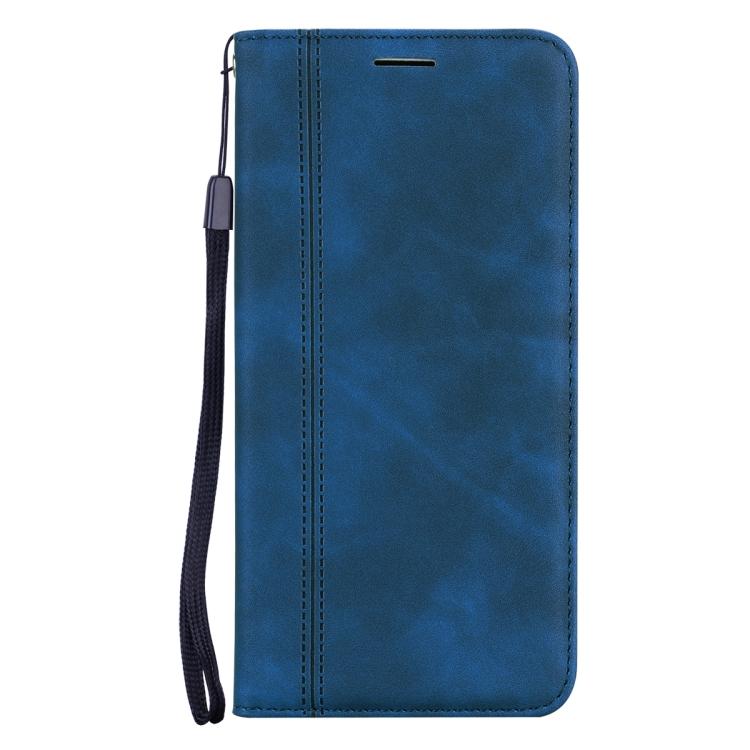 Чехол-книжка Frosted синего цвета на Samsung Galaxy A32 4G