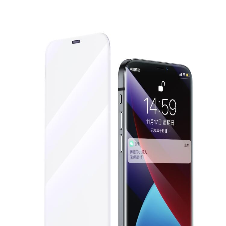 Защитное стекло Benks OKR + Series на iPhone 12 Pro Max - прозрачное