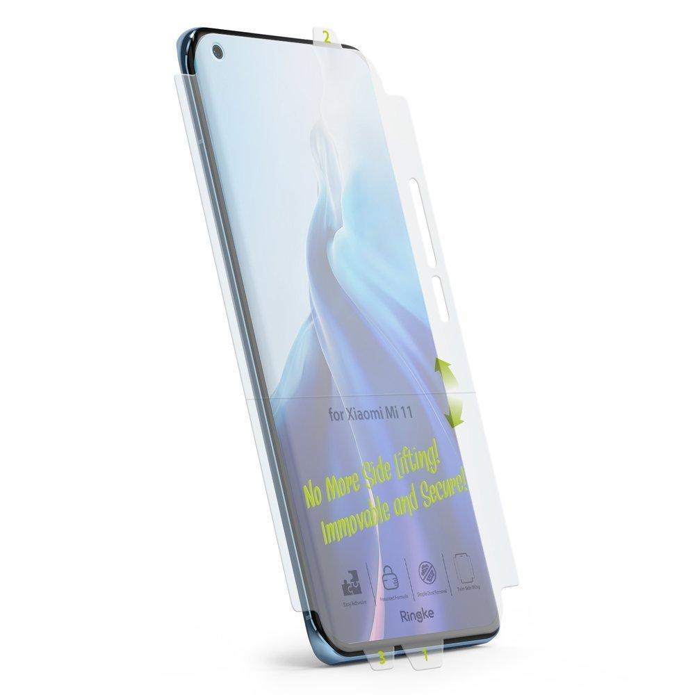 Защитная бронированная пленка Ringke Dual Easy Wing 2x self на Xiaomi Mi 11
