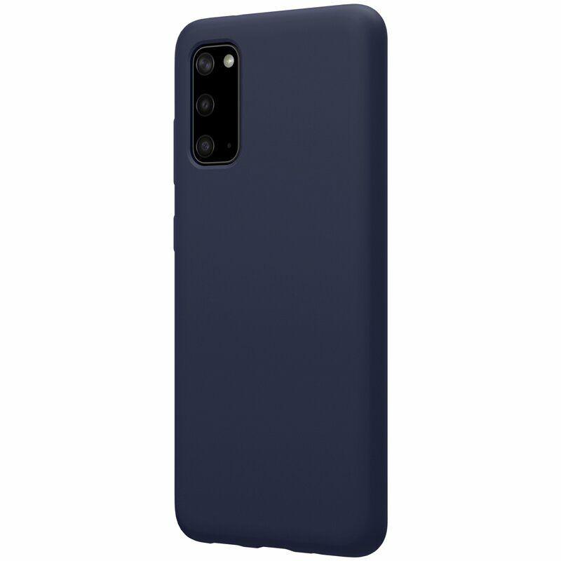 Чехол-накладка на Samsung Galaxy S20 синий