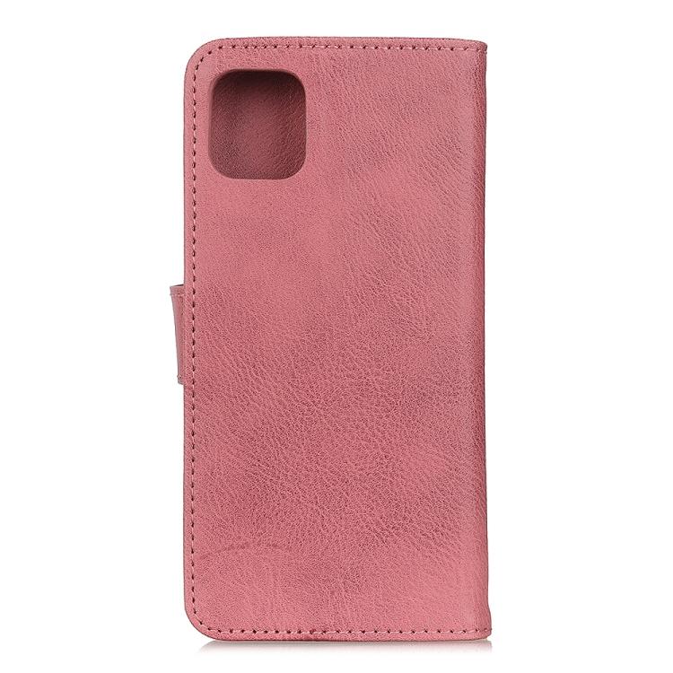 Чехол-книжка KHAZNEH Cowhide Texture на Realme C11 - розовый