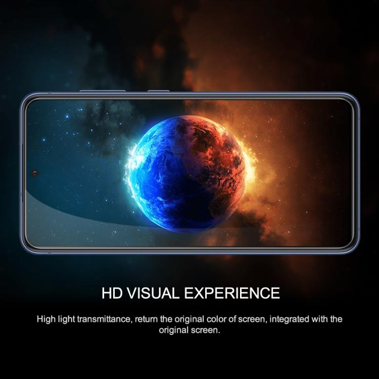 Защитное стекло Nillkin (CP+PRO) для Samsung Galaxy S21 FE - черное