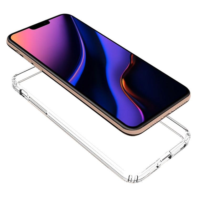 Акриловый чехол с антицарапающимся покрытием на iPhone 11 Pro Max- прозрачный