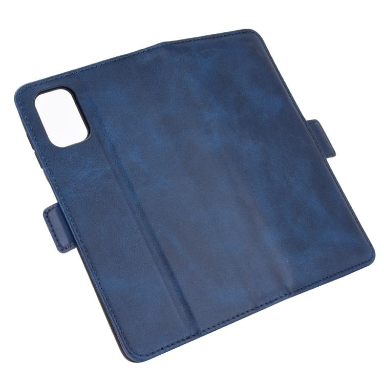 Чехол-книжка Dual-side Magnetic Buckle для Самсунг M51 - синий