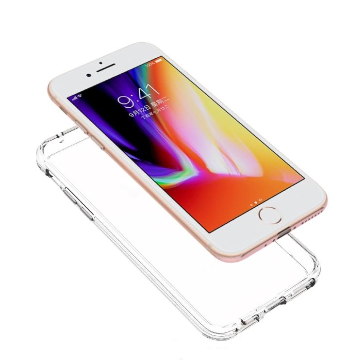 Акриловый противоударный чехол HMC на iPhone SE 2 2020/7/8 - прозрачный