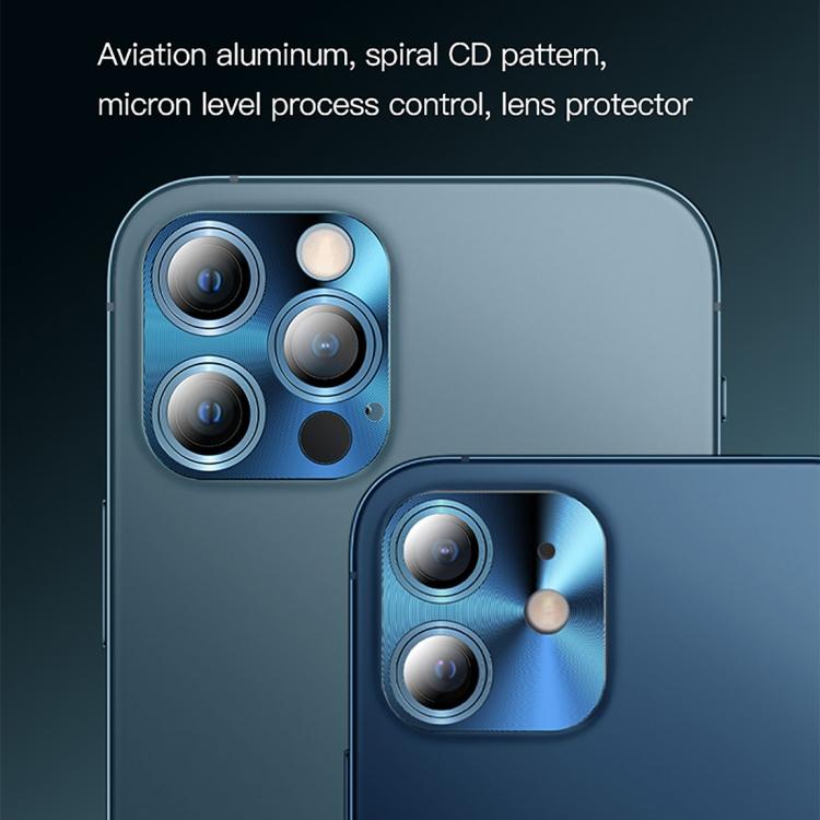 Защитное стекло на камеру TOTUDESIGN AB-065 для iPhone 12 Pro Max - золотое