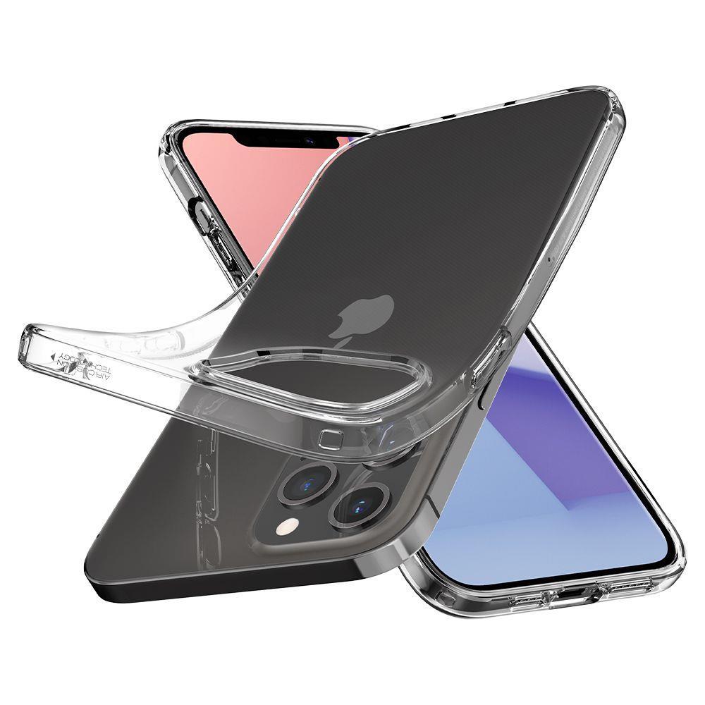 Чехол силиконовый Spigen Liquid Crystal на Айфон 12 Про